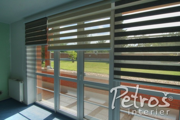 amazing of duo blinds are given by the original concept which consists of regular alternating transparent and opaque stripes you choose the